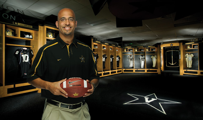 James Franklin coached the Vanderbilt Commodores from 2011 to 2013.
