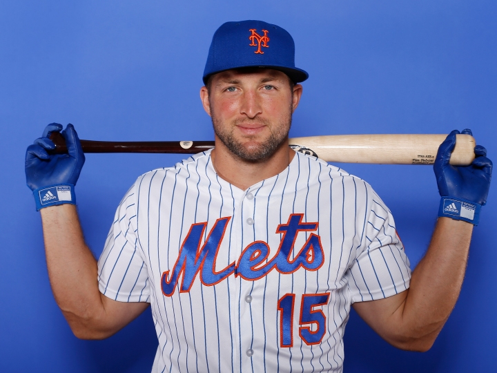 Tim Tebow retires from New York Mets.