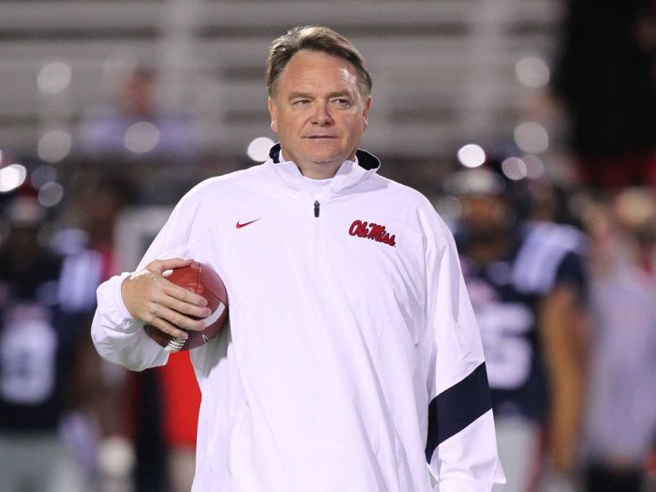 Houston Nutt coached Ole Miss from 2008 to 2011