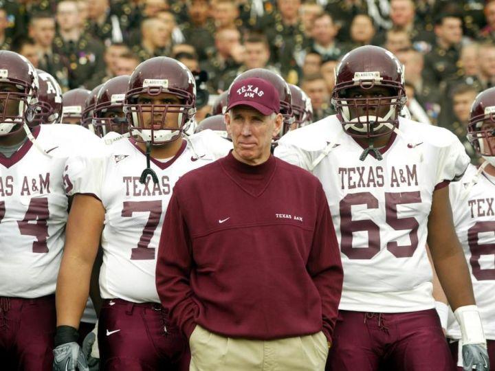 Former Texas A&M coach R.C. Slocum